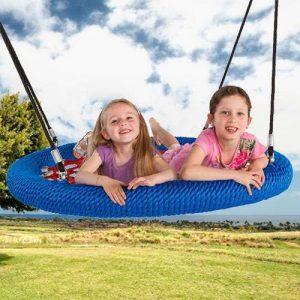 Playground nest swing