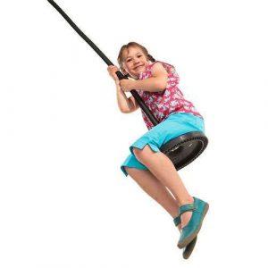 Fun on a monkey swing