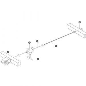 Zip wire components